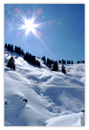 Winterurlaub: Deutschland, Österreich, Frankreich ...